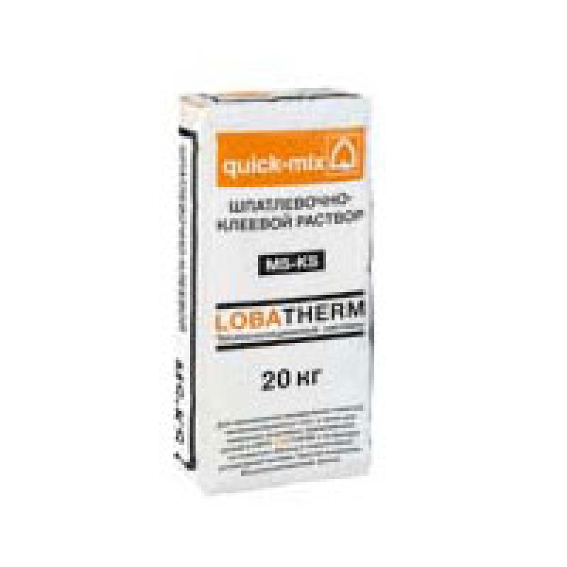 MS-KS Шпатлевочно-клеевой раствор легкий для минеральных ячеистых плит