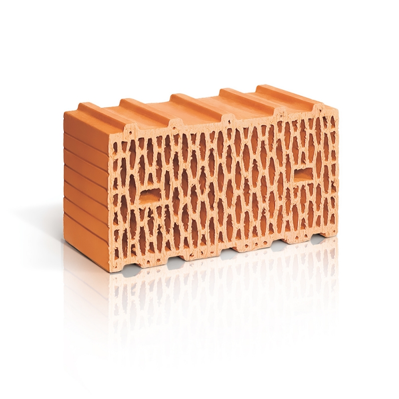 Крупноформатный поризованный блок 14,3 НФ