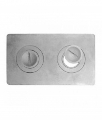 Плита 2х-конфорочная П2-3 710х410 мм