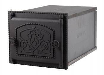 Духовка ДП-ДТ-6А печная чугунная крашенная 345x289x500 мм