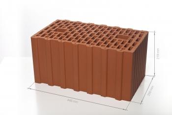 Крупноформатный поризованный блок 12,4 НФ