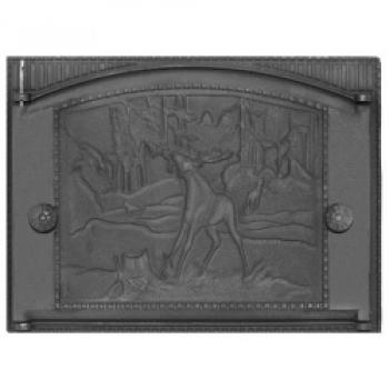 Дверка ДТК-2  каминная 450*326 мм
