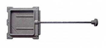 Задвижка ЗВ-1А 494x184x33 мм