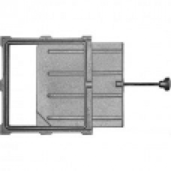 Задвижка ЗВ-5А 240×260 мм