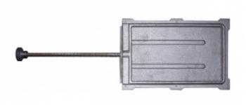Задвижка ЗВ-8А 160×265 мм