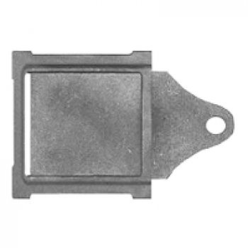 Задвижка каминная ЗВ-1У 130х130 мм