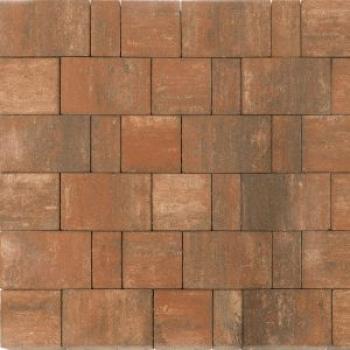 Тротуарная плитка СТАРЫЙ ГОРОД НОРД COLOR MIX Тип 4 «Койот»