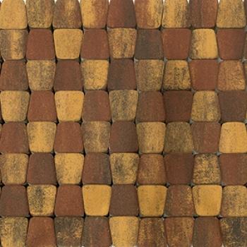 Тротуарная плитка КЛАССИКО КРУГОВАЯ COLOR MIX Тип 3 «Мальва»