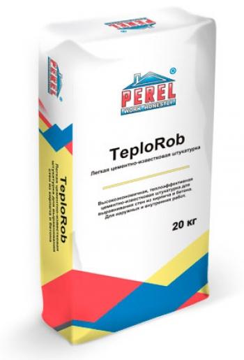 Легкая цементно-известковая штукатурка TeploRob